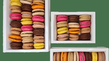 Assortiments de macarons - boulangerie agde - maison gil