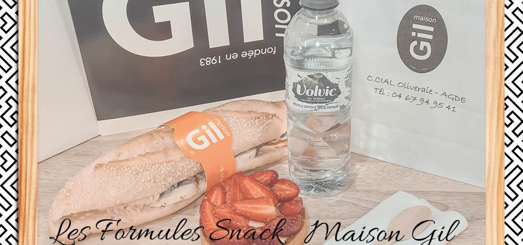 Les formules Snack Maison Gil